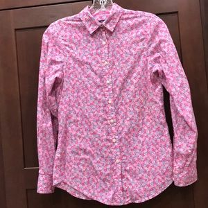 Girls Junior or Ladies Gap Pink Floral Blouse